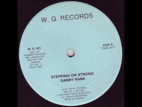Danny Rank - Stepping On Strong Discomix - 12