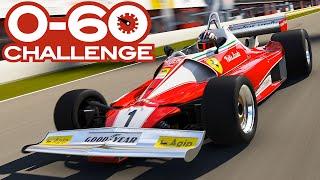 0-60 MPH Challenge: Open Cockpit Cars In Forza 6 - Formula E