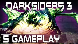 DARKSIDERS 3 GAMEPLAY REVEALED! - Analysis and Thoughts of the Pre-Alpha & Sloth Boss Battle