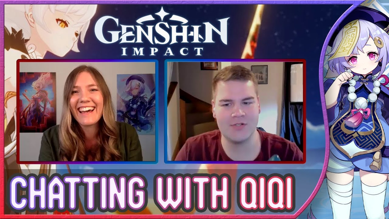 Chatting With The Voice Of Qiqi & The Unknown God, Christie Cate! | Genshin Impact Interview