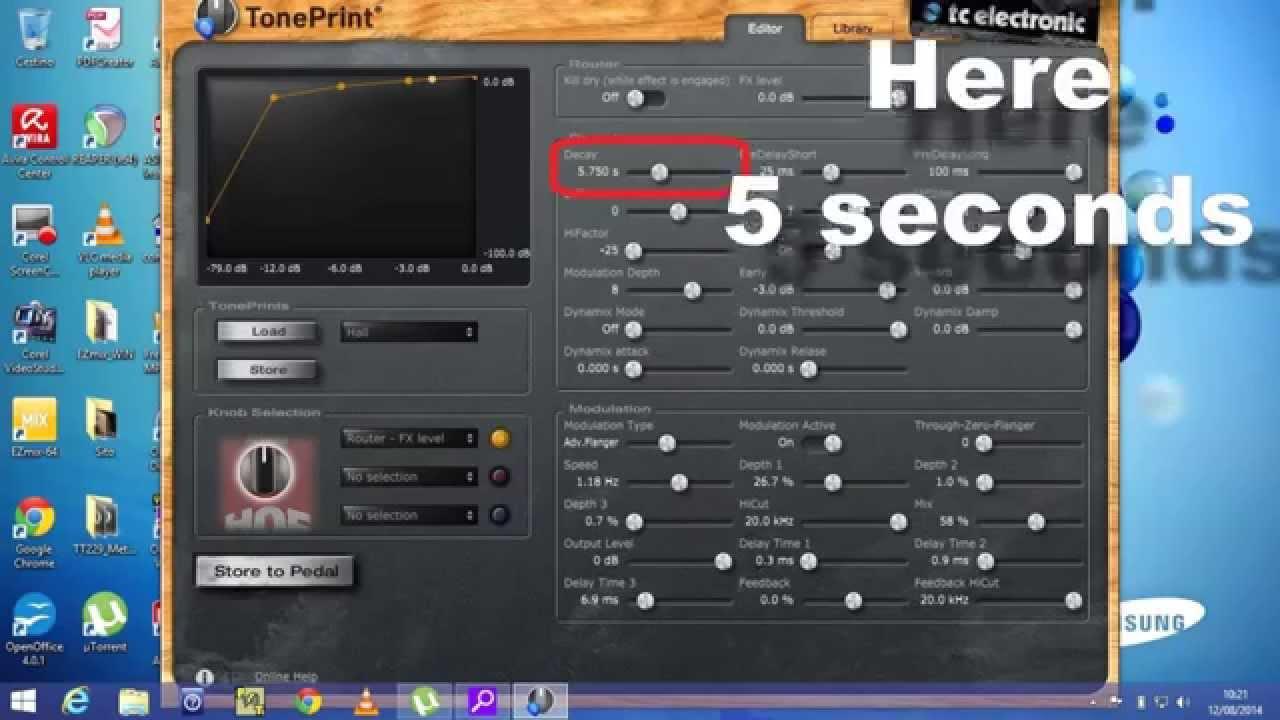 Hall Of Fame Mini Reverb Audio Test 3 Tone Editor Usb