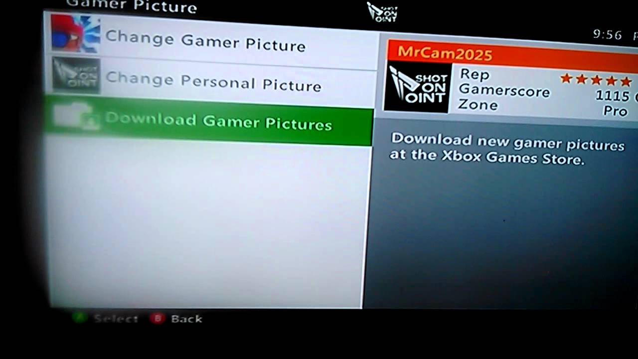 How To Get A Cool Gamer Picture Xbox 360 Youtube