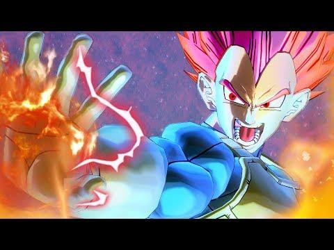 Super Saiyan God Vegeta DLC Pack 9 Dragon Ball Xenoverse 2 LEAK