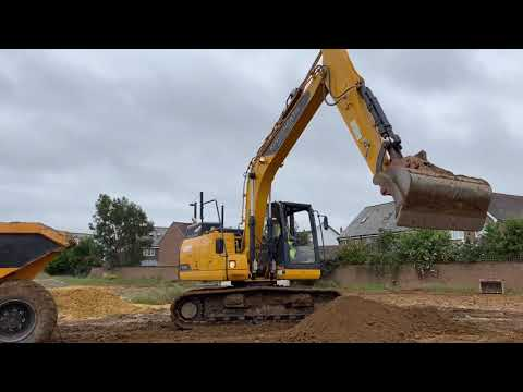 Kingsheath Construction LiuGong 915E's On Site In Kent