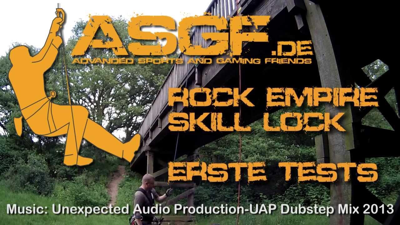 Treeup Klettergurt Test : Erster test mit dem rock empire skill lock youtube