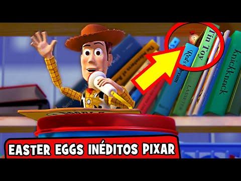 15 EASTER EGGS Inéditos nos Filmes da PIXAR / DISNEY