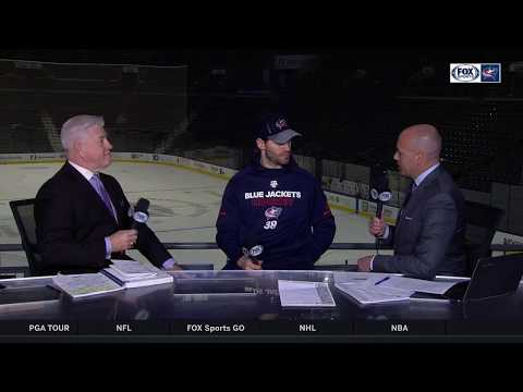 Boone Jenner appreciates heartwarming fan support | BLUE JACKETS-AVALANCHE POSTGAME