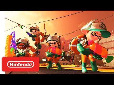 Make Splatoon 2 – Nintendo Direct 4.12.2017 Pics