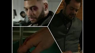 EastEnders 3rd & 5th January 2017 - Osman Bolat Takes A Beating From Mick Carter