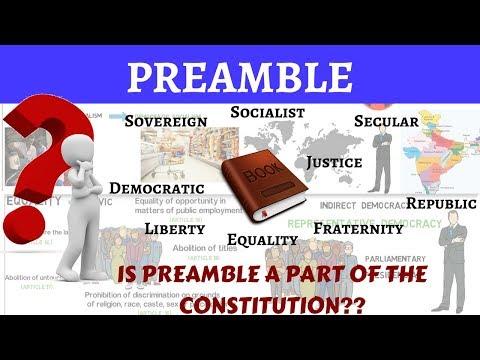 Preamble in Hindi