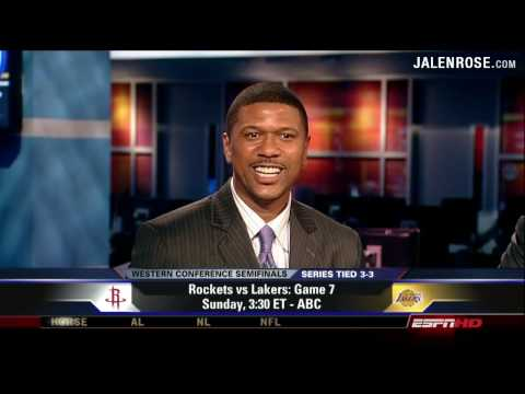 Jalen Rose and Jamal Mashburn talk game 7 preparation