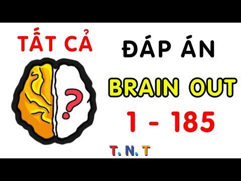 Đáp án Brain out tiếng việt - tổng hợp tất cả câu trả lời GAME Brain out từ CÂU 1 đến CÂU 185