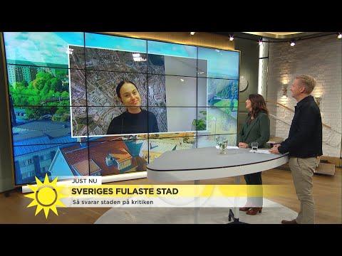 """Borlänge är Sveriges fulaste stad: """"Vad är vackert?"""" - Nyhetsmorgon (TV4)"""
