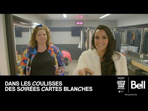 Bell présente DANS LES COULISSES DES SOIRÉES CARTES BLANCHES - avec Michelle Desrochers