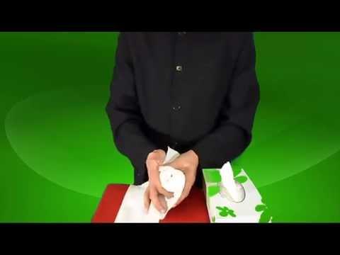 تعلم العاب الخفة  247  علبة الورقية و اليمامة  free magic trick