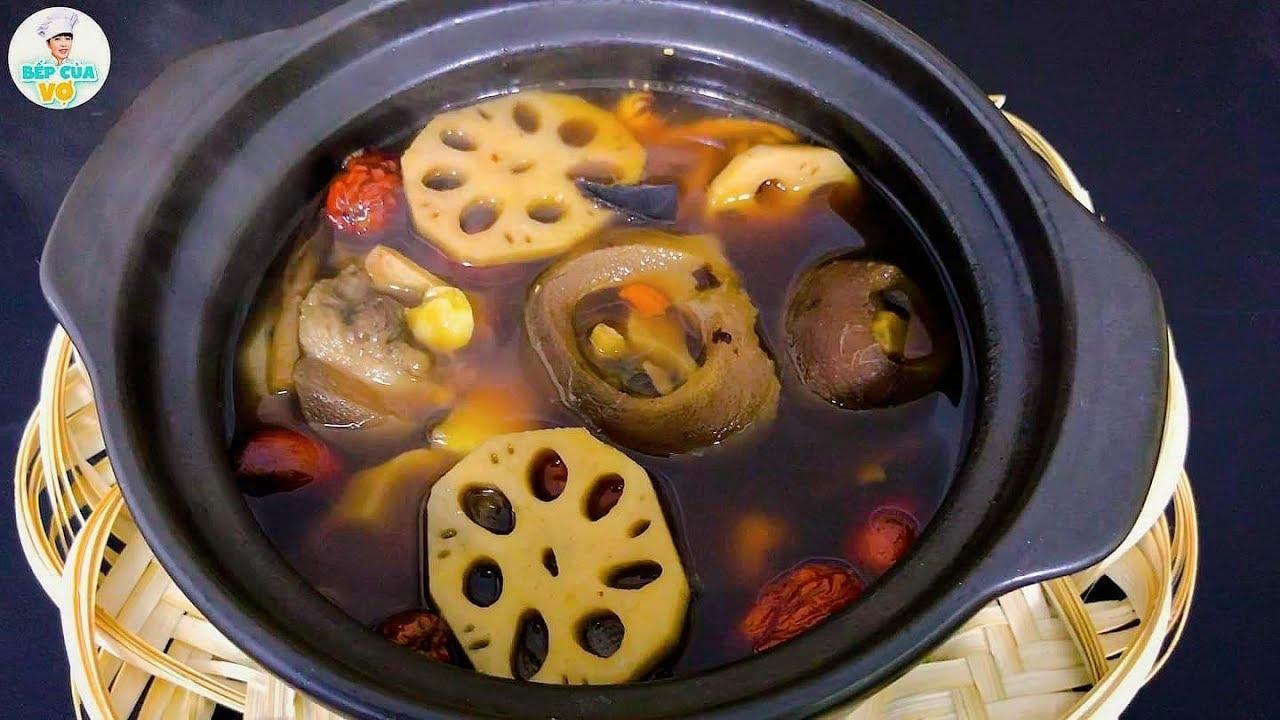 ĐUÔI BÒ HẦM THUỐC BẮC | Món ăn bổ dưỡng cho gia đình | Bếp Của Vợ