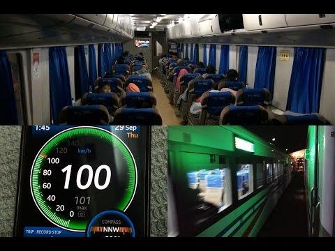 Trip by Train - Naik Sepur Enak Kereta Api Eksekutif Gajayana