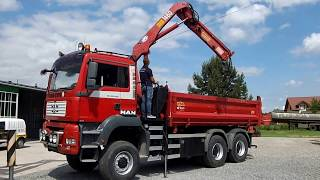 MAN TGA 26.440 tipper truck + HDS / wywrotka MAN TGA 26.440 + HDS