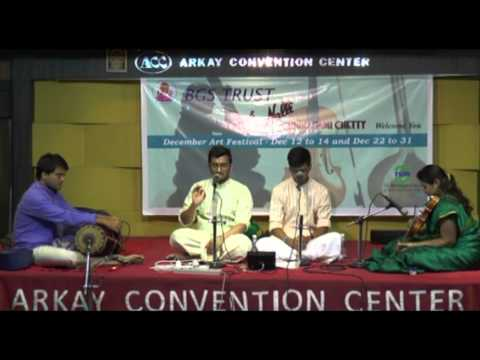 Arkay Convention Centre (BGS Trust) Concert - Dec 2014