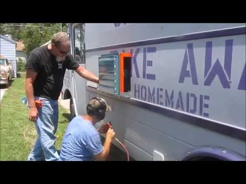 Chapmans Take Away Food Truck ~BUILDING A FOOD TRUCK~ Exhaust Fan