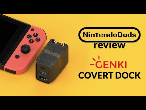 Review - Genki Covert Dock For Nintendo Switch From Human Things