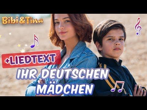 Bibi & Tina   Ihr deutschen Mädchen seid so - jetzt mit LYRICS zum Mitsingen