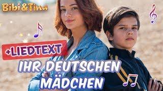 Bibi & Tina | Ihr deutschen Mädchen seid so - jetzt mit LYRICS zum Mitsingen