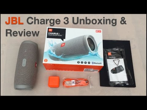 Jbl charge 3 unboxing an lisis el mejor parlante bluetooth espa ol youtube - Jbl charge 2 vs charge 3 ...