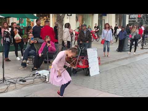 Rockabye feat Sean Paul & Anne-Marie - Karolina Protsenko Violin Street Performance