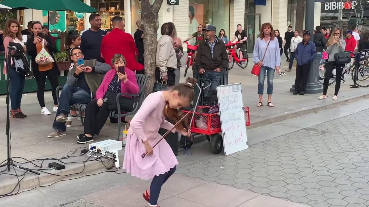 Rockabye (feat. Sean Paul & Anne-Marie) - Karolina Protsenko (Violin Street Performance)
