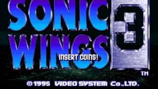 ソニックウイングス3 / Aero Fighters 3 / Sonic Wings 3 Video System...