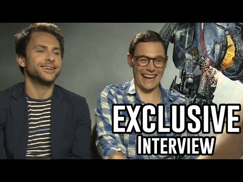 Charlie Day & Burn Gorman  Pacific Rim Exclusive