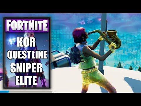 Fortnite - Kor Sniper Elite Questline |