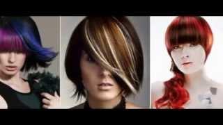видео колорирование волос