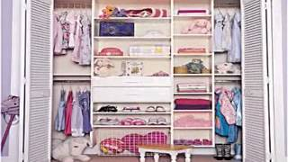 Bedroom Closet Storage Decorating Ideas