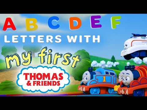 Learn the Alphabet with My First Thomas Railways | Playing around with Thomas & Friends