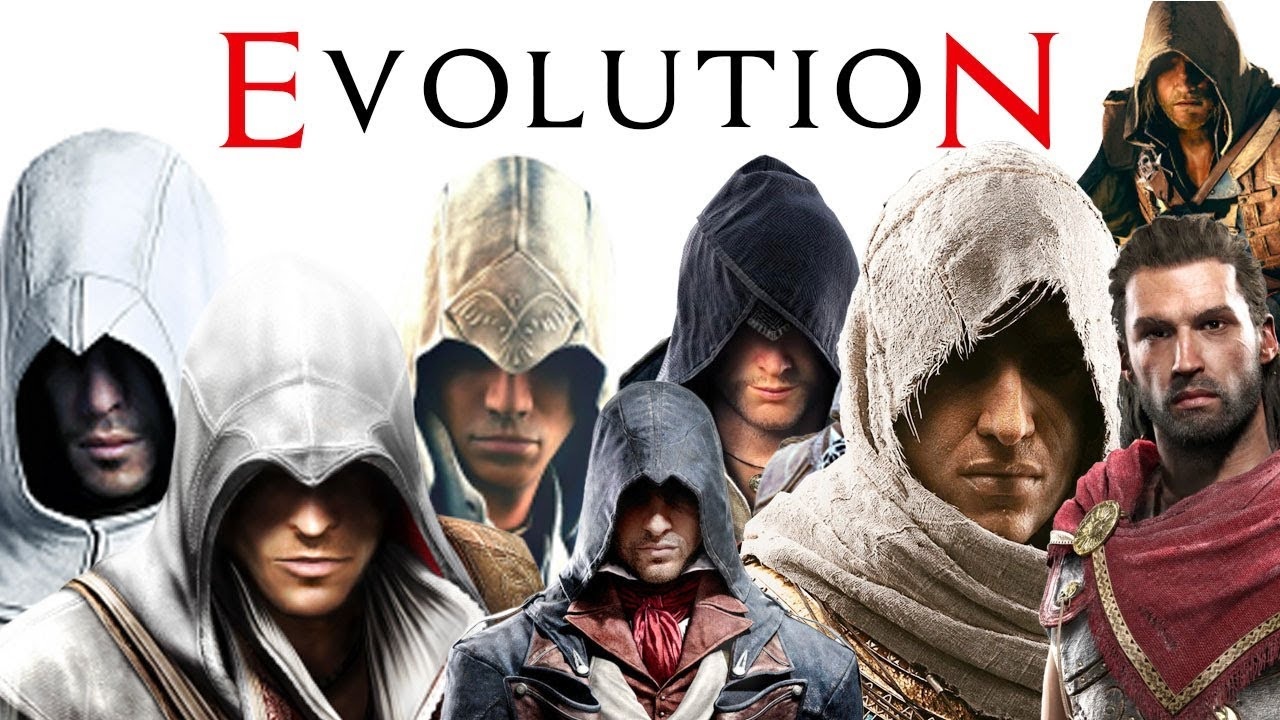 Evolution of Assassin's Creed