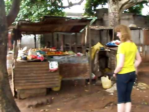 Daily life in Matola, marketplace in Mozambique
