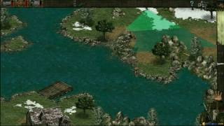 Commandos: Behind Enemy Lines gameplay (PC Game, 1998)