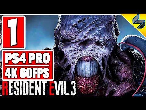 ПРОХОЖДЕНИЕ RESIDENT EVIL 3 REMAKE (2020) ➤ #1 ➤ На Русском ➤ Без Комментариев ➤ PS4 Pro 4K 60FPS