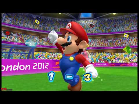 Mario & Sonic at the London 2012 Olympic Games #football part 17