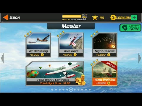 Flight Pilot Simulator 3D Android Game - Master Missions