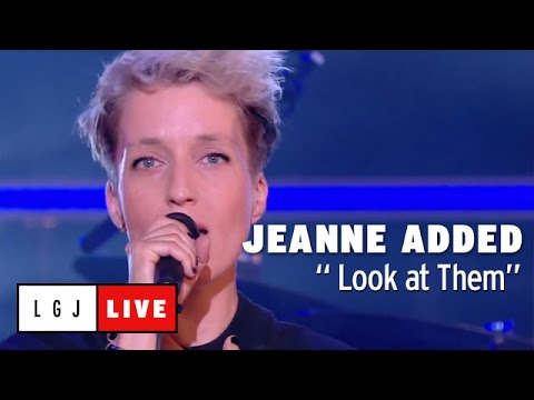 Jeanne Added  Look at Them   du Grand Journal