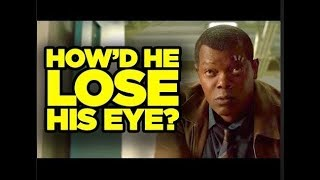 HOW NICK FURY LOST HIS EYE 2019. ACCORDING TO CAPTAIN MARVEL