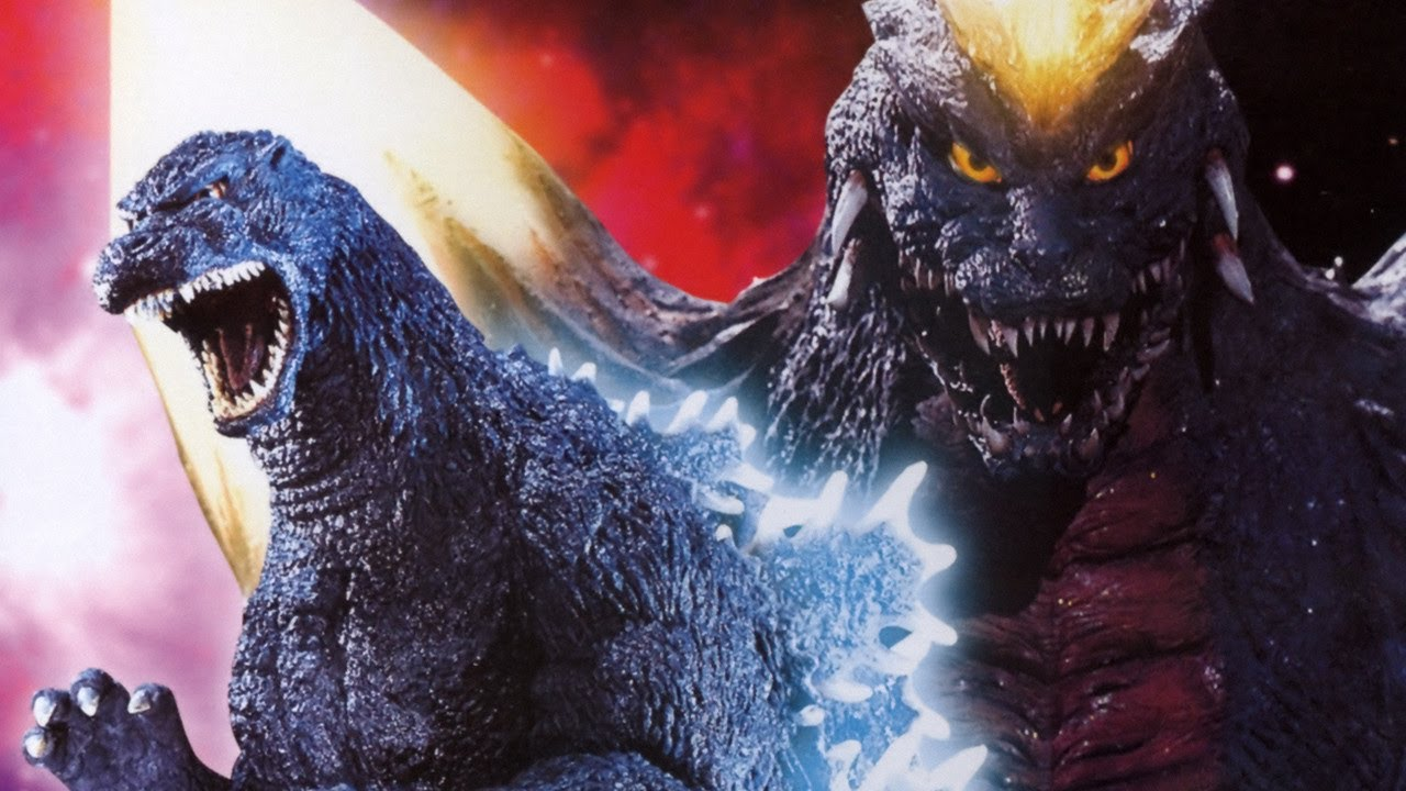 Image result for godzilla vs spacegodzilla