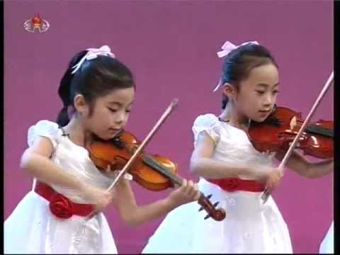 "[Violin] ""Playing at Revolutionaries"" {DPRK Music}"
