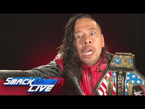 Shinsuke Nakamura has a gift for Seth Rollins at Survivor Series: SmackDown LIVE, Nov. 6, 2018