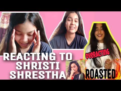 REACTING TO SHRISTI SHRESTHA INTRODUCTION VIDEO || SHRISTI SHRESTHA ROASTED ||| CRINGE LEVEL 100 |||