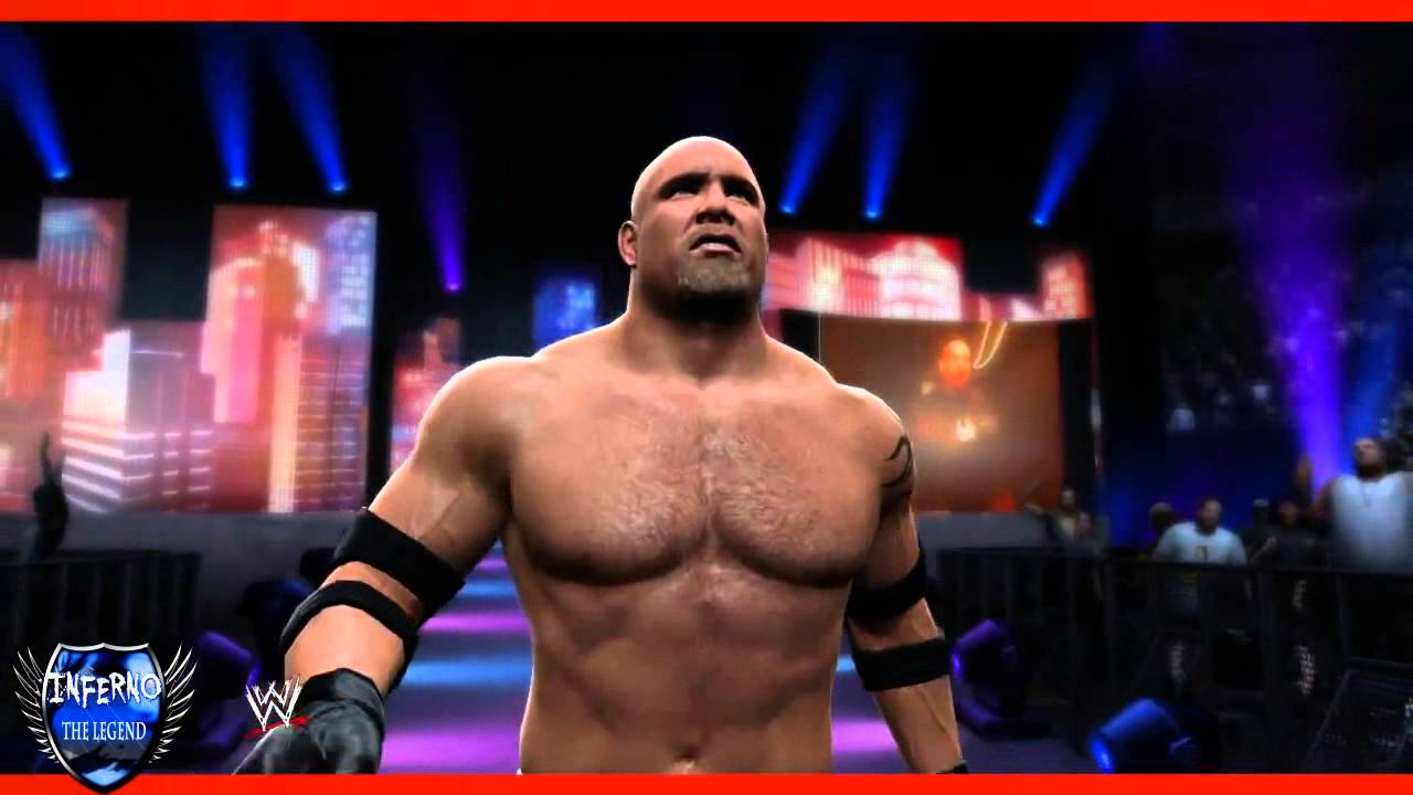 goldberg wwe 2k14 entrance youtube