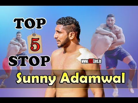 Sunny Adamwal Top 5 Stops/www.123Live.in